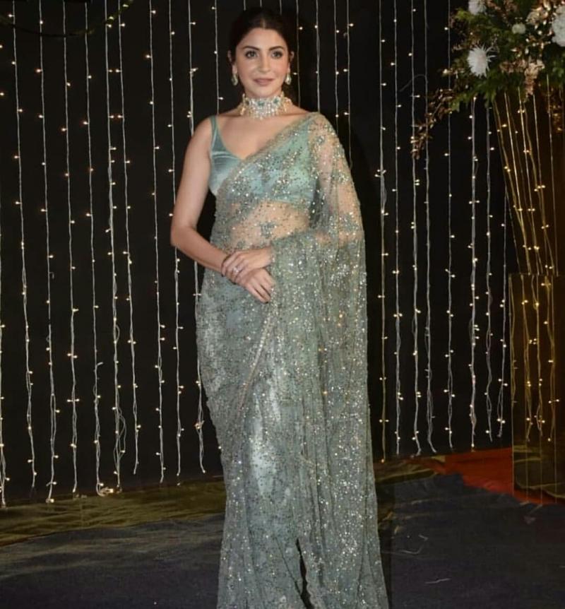 Anushka Princess Saree