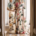 Choose code Floral saree