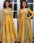 Prachi Desai Yellow Suit