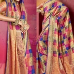 Checkered Silk Multicolour 1
