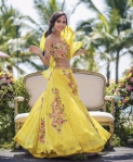 Yellow flowerina lengha