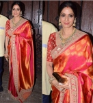 Sri devi two tone silk
