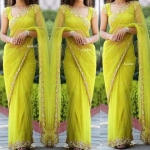 Shiny Dazzina Saree
