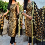 Black Goldenisha Suit