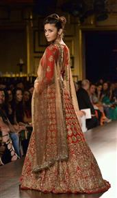 Allia bhatt Red Hill lengha