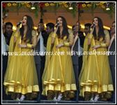 Aish yellow diva suit