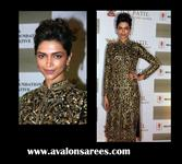 Deepika Gold Diva suit