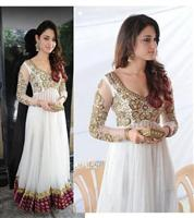 Tamana HOLY White Anarkali