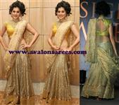 Tapsee Gold Lengha
