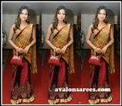 Amala paul Gold lengha