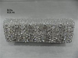 Five Crystal clutch