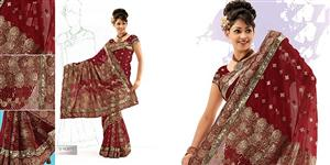 SALE 4111- WEDDING SAREE